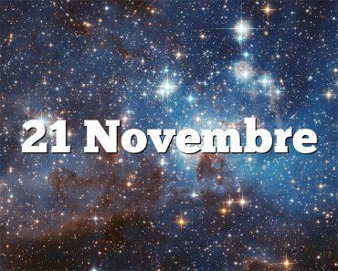 21 Novembre