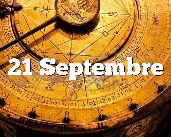 21 Septembre
