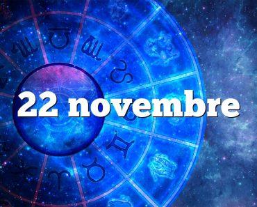 22 novembre