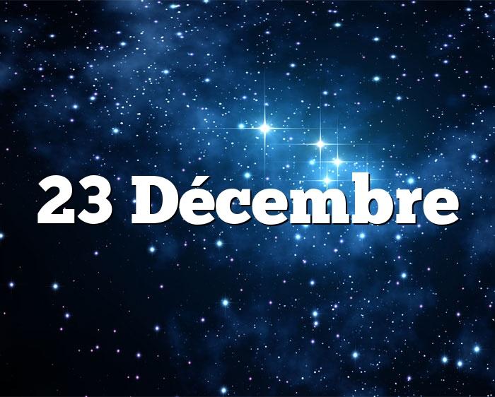 23 Décembre