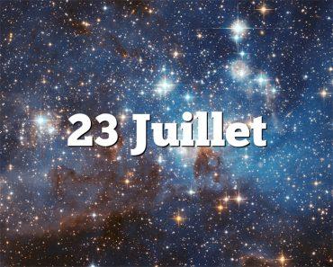 23 Juillet