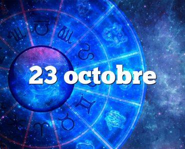 23 octobre