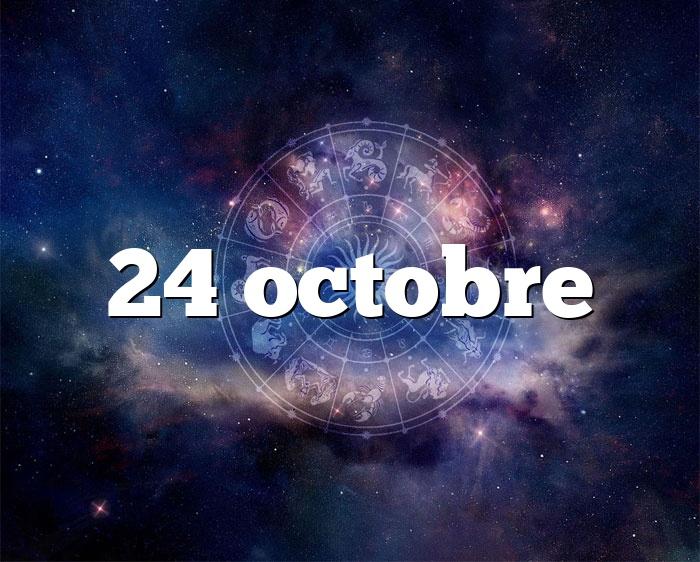 24 octobre