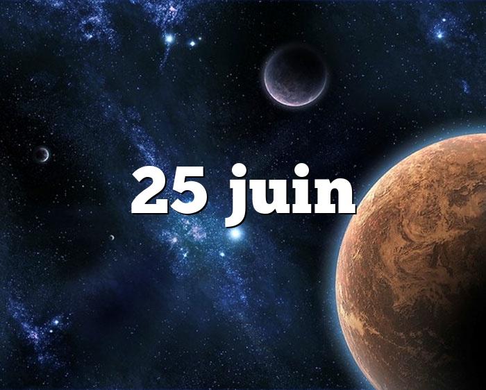 25 juin