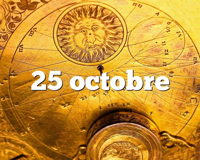 25 octobre