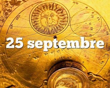 25 septembre