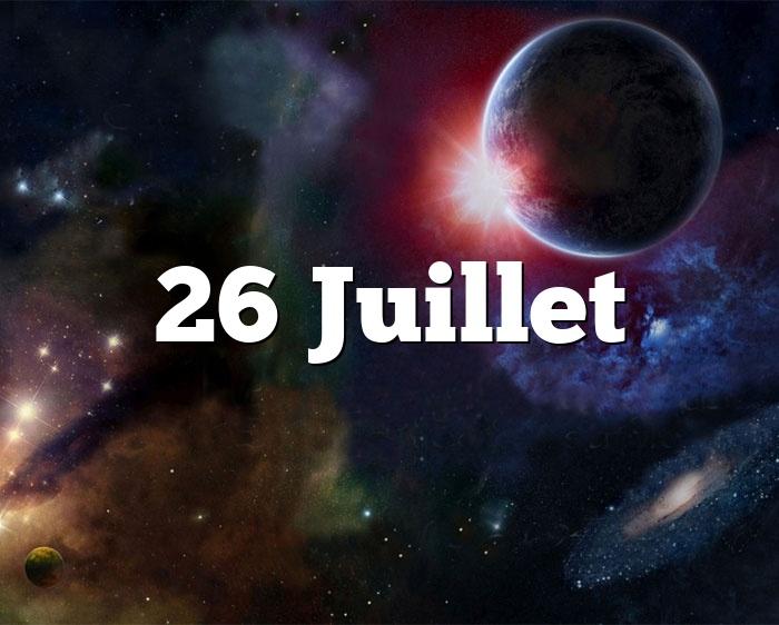 26 Juillet