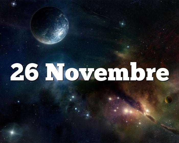 26 Novembre