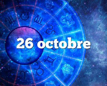 26 octobre