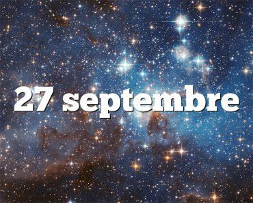 27 septembre