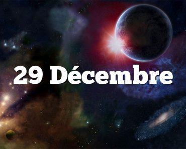 29 Décembre