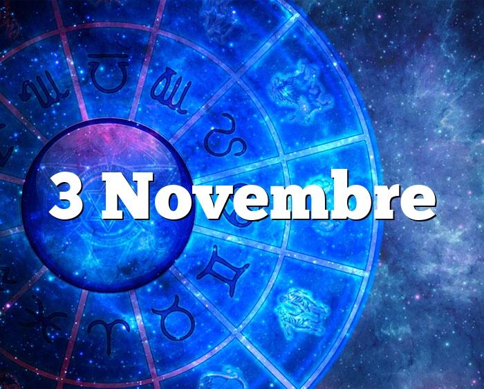 3 Novembre