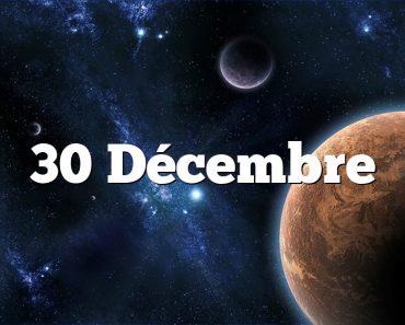 30 Décembre