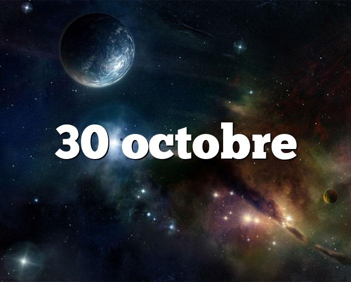 30 octobre
