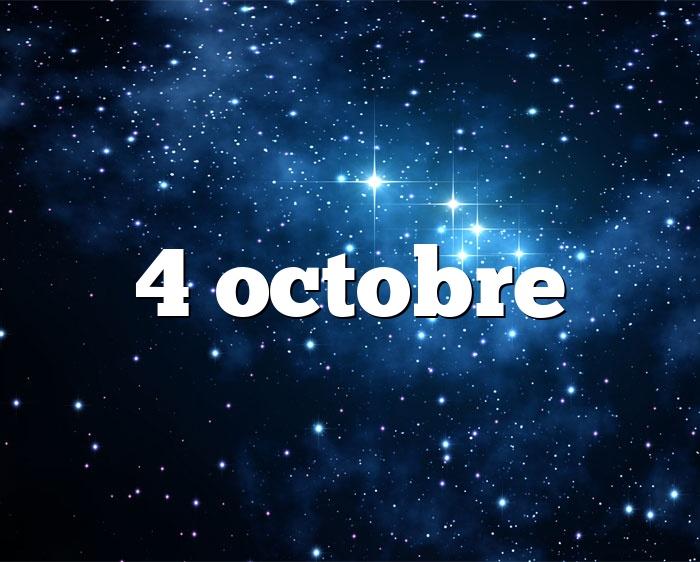 4 octobre