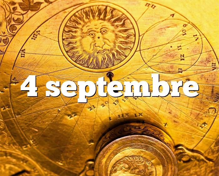 4 septembre