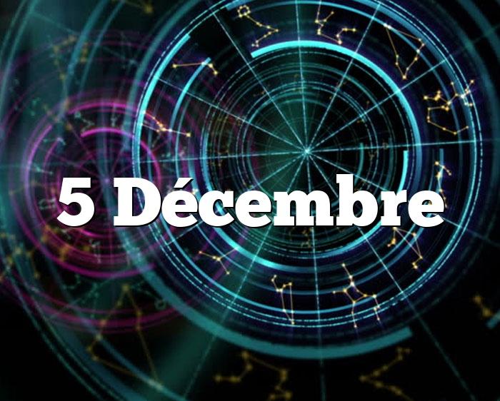 5 Décembre