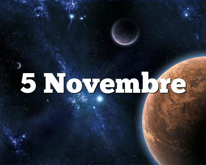 5 Novembre
