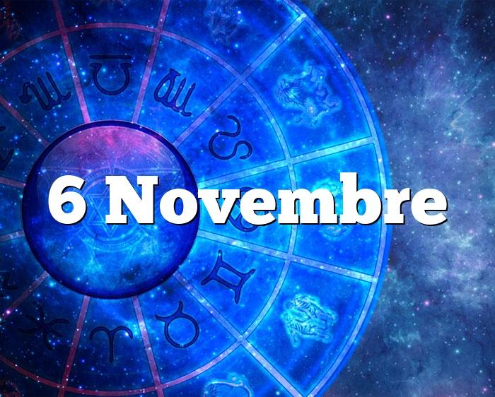6 Novembre