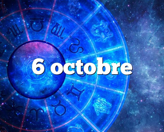 6 octobre