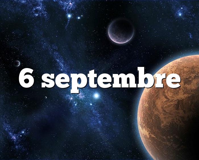 6 septembre
