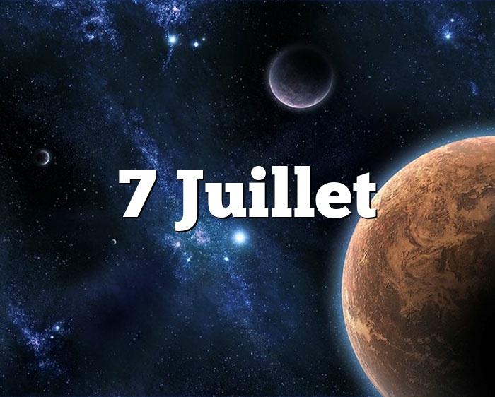7 Juillet