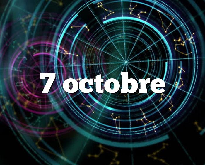 7 octobre