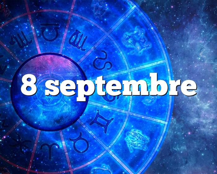 8 septembre