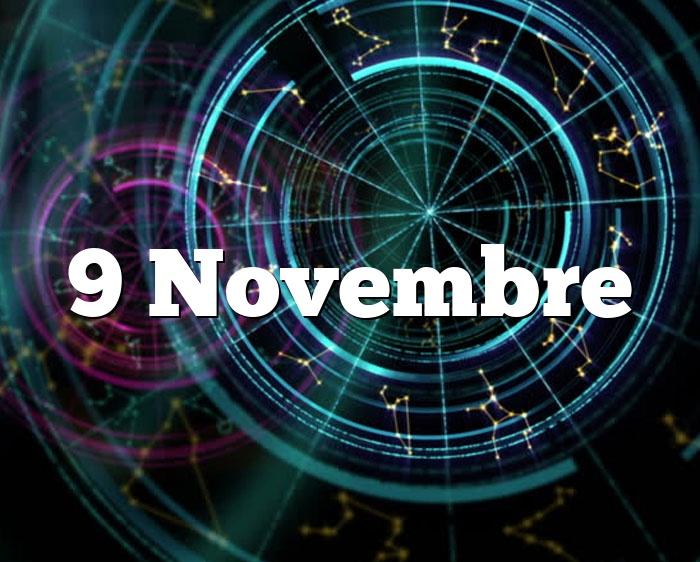 9 Novembre