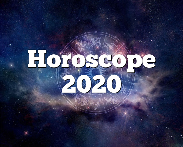 Horoscope 2020