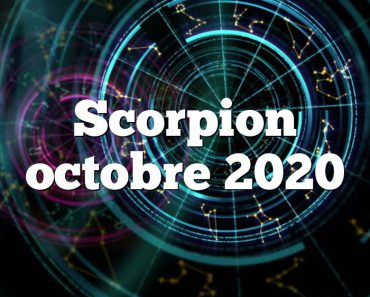 Scorpion octobre 2020