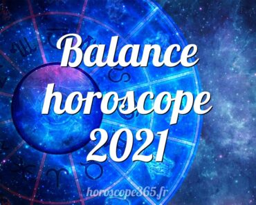 Balance horoscope 2021