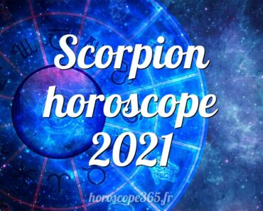 Scorpion horoscope 2021