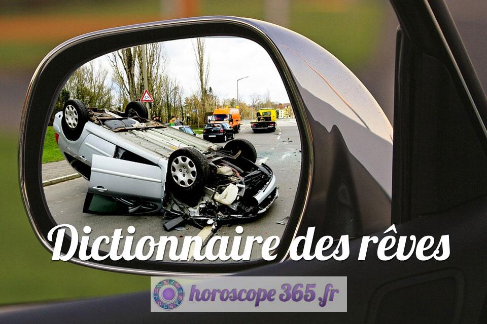 Dictionnaire des rêves : accident