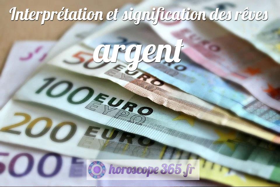 Dictionnaire des rêves : argent
