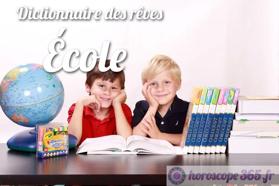 Dictionnaire des rêves : École