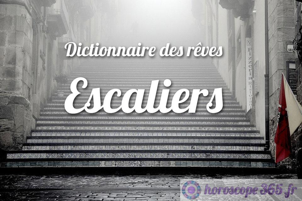 Dictionnaire des rêves : Escaliers