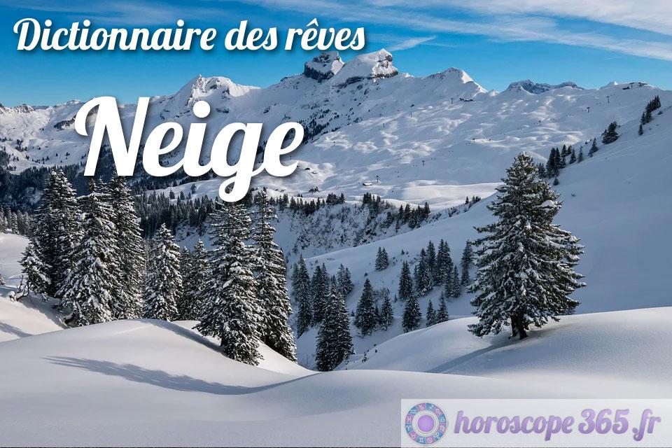 Dictionnaire des rêves : Neige