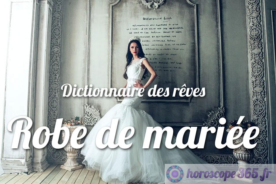 Dictionnaire des rêves : Robe de mariée