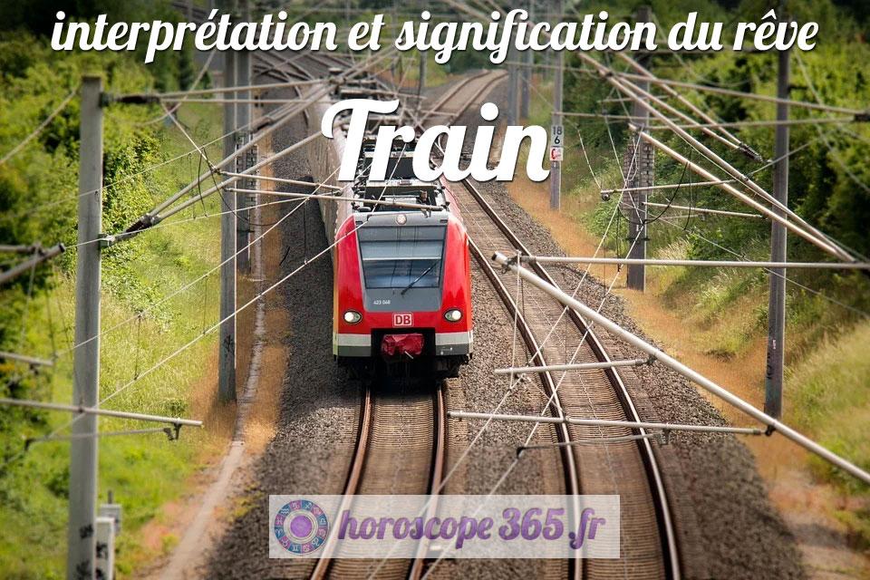 Que signifie le fait de rêver de train?