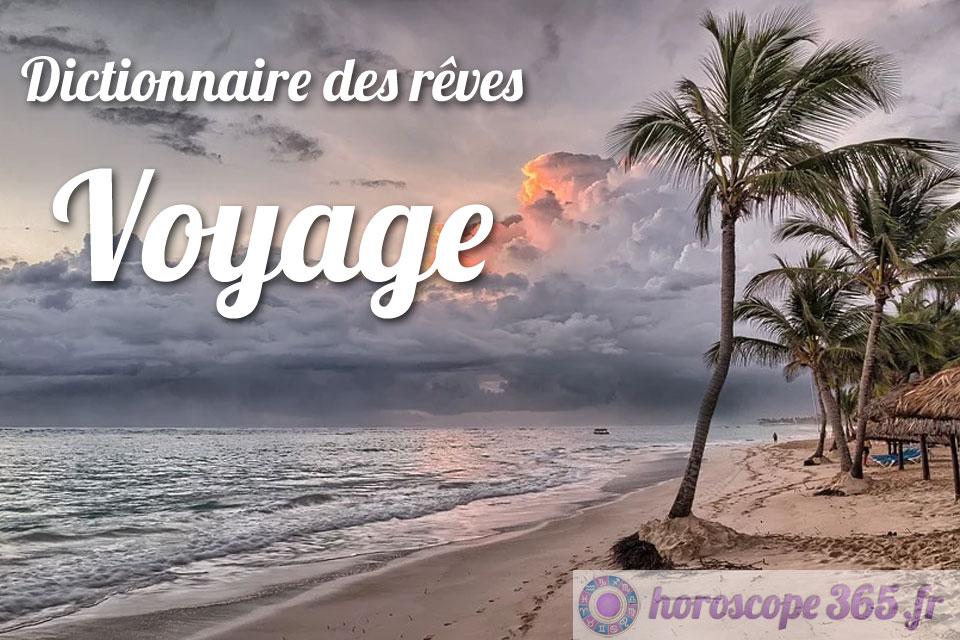 Dictionnaire des rêves : Voyage