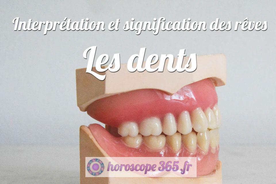 Rêve de Les dents