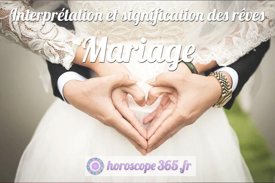 Dictionnaire des rêves : Mariage