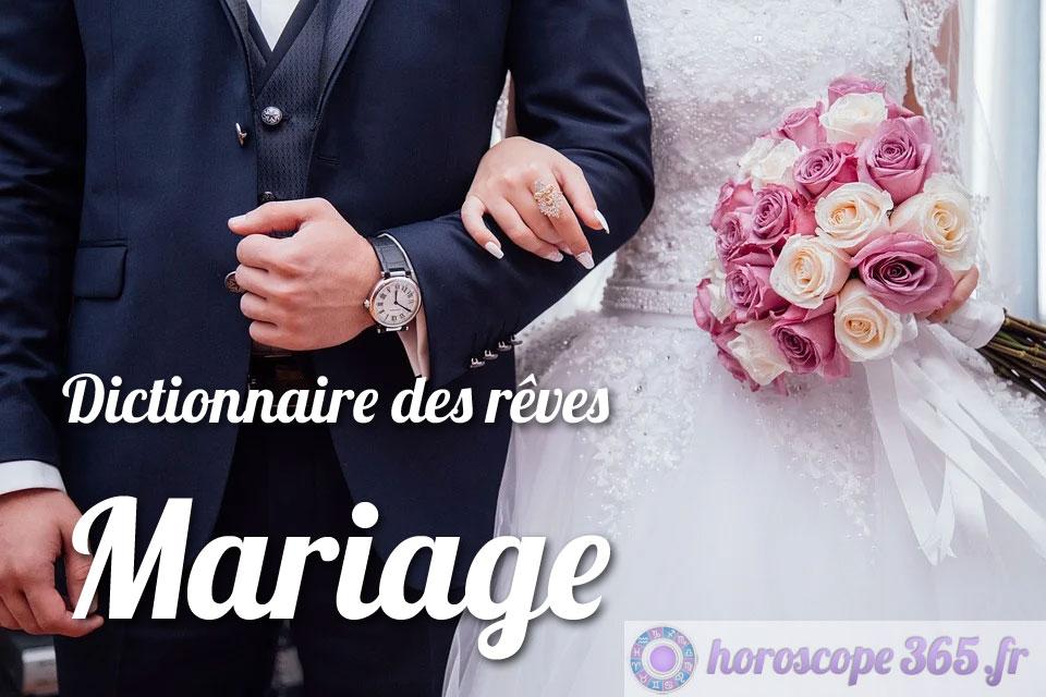 Que signifie le fait de rêver d'un mariage?