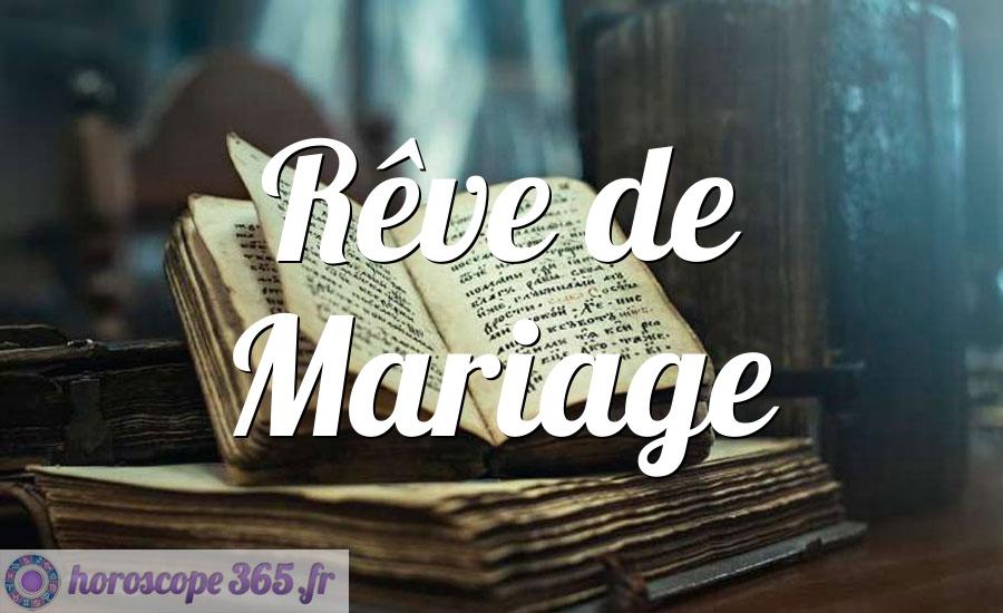 Rêve de Mariage