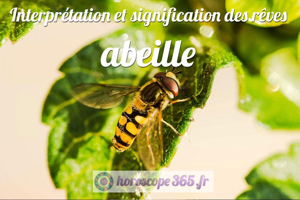 Signification du rêve d'abeille