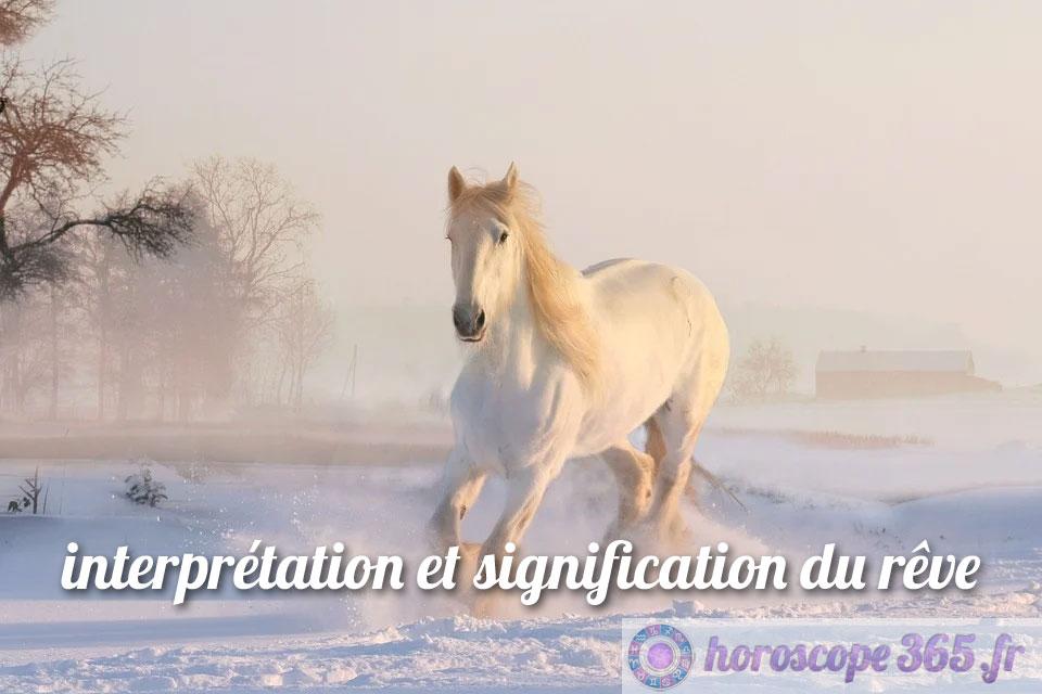 Dictionnaire des rêves : Cheval