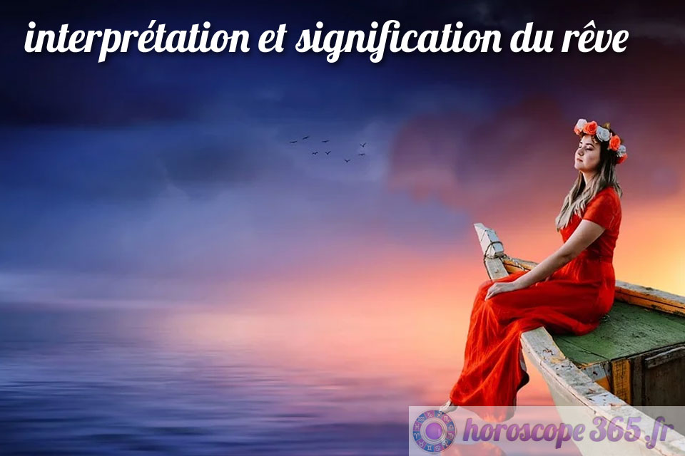 Dictionnaire des rêves : eau