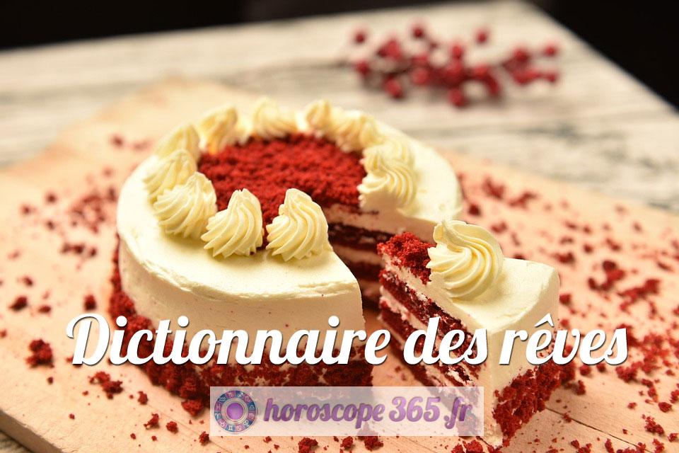 Dictionnaire des rêves : Gâteau