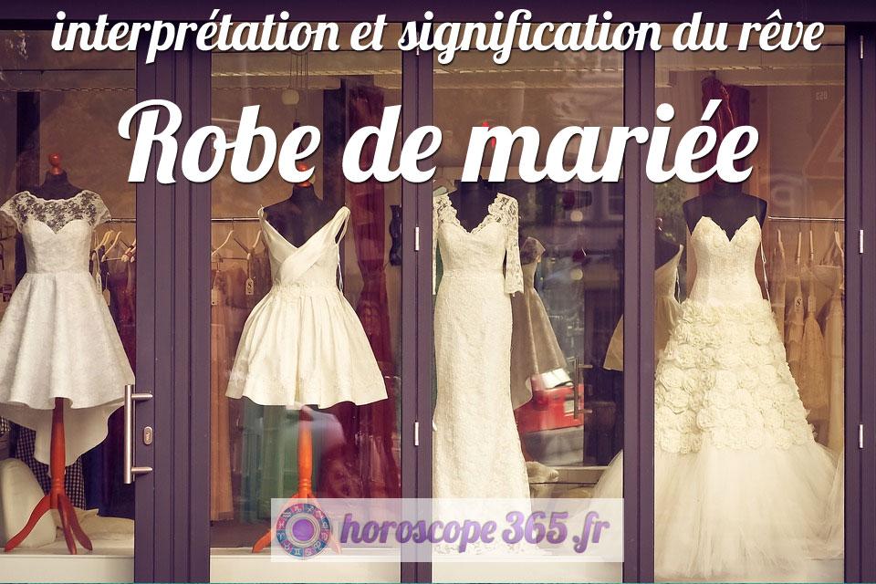 Rêve : Robe de mariée